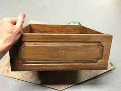 Old Drawer Becomes a Cheery Planter in 1 Hour