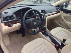 Volkswagen Passat HyMotion hydrogen fuel cell prototype - Interior -  Los Angeles, November 2014