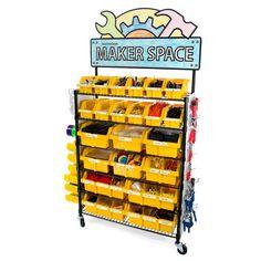 Maker Cart - The Ultimate STEM / STEAM / Maker Solution – TeacherGeek