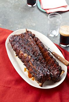 Brew-House Baby Back Ribs recipe - saucy and sticky ribs, delicious!