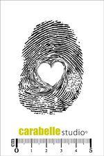 Tampon : Empreinte coeur Carabelle Studio