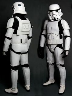 Motorcycle riders/ geeks- If you ever wanted to know what it feels like to be a Stormtrooper.. Well here's your chance!