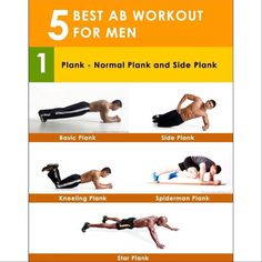 5 Best Ab Workout For Men