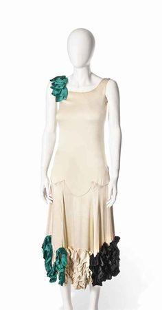A stage dress, possibly Jeanne Lanvin, c. 1924.