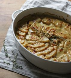 Golden Butternut Squash Gratin; Recipe Roundup: 5 Favorites to Bring to a Holiday Potluck…