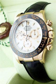 ROLEX 116515LN COSMOGRAPH DAYTONA CERAMIC 18K EVEROSE PINK GOLD WITH IVORY DIAL #Rolex