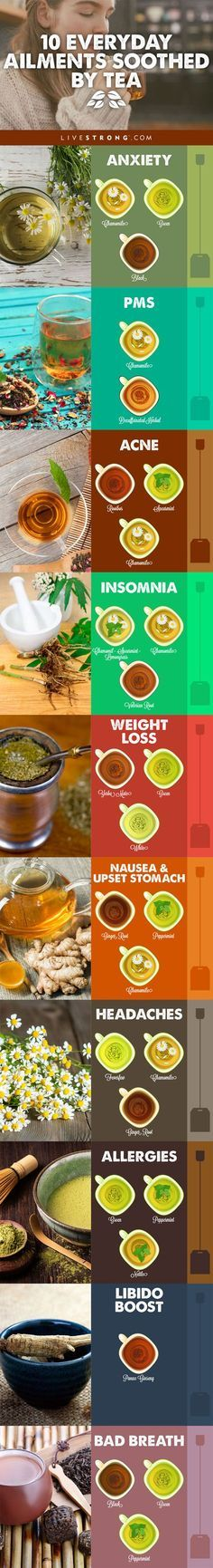 Amazing Herbal Tea Remedies You'll Love