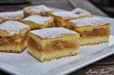 Prajitura turnata cu mere   Retete culinare cu Laura Sava