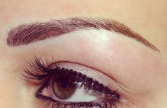 Semi Permanent Eyebrows (Tattooing) - Case Studies
