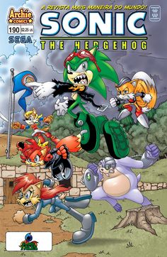 Sonic Tales: Sonic The Hedgehog #190