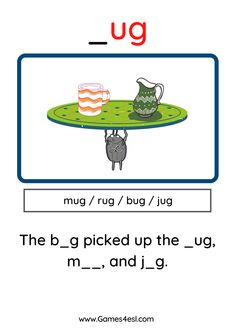 A collection of free phonics worksheets for kids. Download and use in class today.