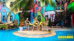 Uima-asu uutuus! Aguamiu-uimaleggingsit on vesiliikuntaa harrastavan tai sitä vielä välttelevän naisen uusi lempivaate. Asu, Fair Grounds