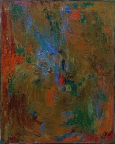 Albert Kotin, Untitled, 1954 Oil on canvas, 201 x 16 inches