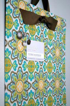 Fabric Magnet Board