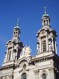 Basílica de San Fancisco, a  monument of faith, art and history, Buenos Aires.