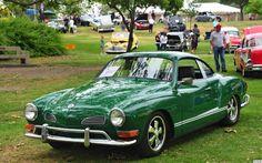 emerald green Karmann Ghia (yes please, oh please, oh please)