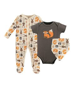 954b42486a46 Move seamlessly from playtime to nap time with this matching set in comfy  cotton fabric.Includes bodysuit