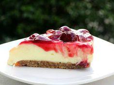 ΜΑΓΕΙΡΙΚΗ ΚΑΙ ΣΥΝΤΑΓΕΣ 2: Τσιζ κέικ κεράσι !!!! Pudding, Cheesecake, Cooking, Desserts, Food, Kitchen, Tailgate Desserts, Deserts, Cheese Cakes