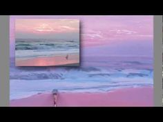 Painting Waves at Dawn (part 2) - YouTube