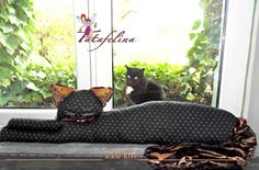 Zugluftstopper  Katze von Fatafelina auf DaWanda.com