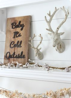 Baby it's cold outside - Salty Bison Signs