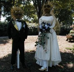 Scarecrow Trail Features 64 Scarecrows