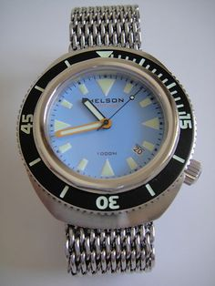 Helson Tortuga 43mm.  Hey, that's a very good-lookin' watch.