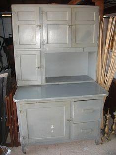 kitchen inspiration - hoosier cabinet