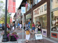 2012 Great Places in America: Streets - Gay Street, Knoxville, Tennessee. First Friday is a monthly art event beginning in the 100 block of South Gay Street and stretching to Market Square, offering visitors live performances, local food, and late night gallery shows, celebrating the vibrancy of downtown Knoxville. Photo courtesy Knoxville-Knox County Metropolitan Planning Commission.