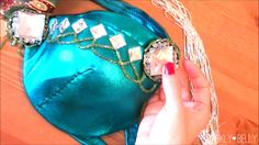 4 ways to add coverage to the tops of your belly dance bra cups by guest blogger, Mao | Belly Dance at Any Size