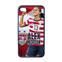 New Alex Morgan Custom Apple iPhone 4 4s Case (Black) Woman Soccer Player