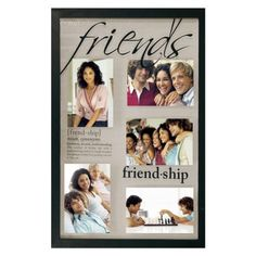 friends collage frame blackopens in a new window