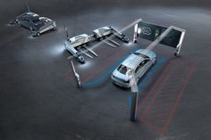 dusseldorf airport receives RAY robotic parking system by serva