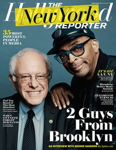Bernie Sanders Interviewed by Spike Lee for THR New York Issue - Hollywood Reporter