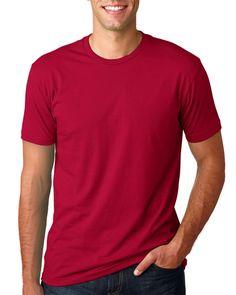 Mens Crew T-Shirt Soft Fitted Plain Tee Shirt