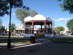 Plaza in La Mesilla