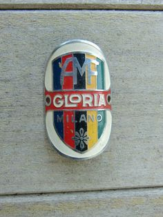 stemma gloria garibaldina milano bici d'epoca,vintage,eroica,old bike in Sport e Viaggi | eBay