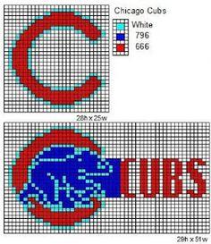 Crochet Fanatic: MLB Logos and Name Plates