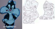 Silvestre (baby) y moldes