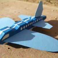 Como fazer um avião com uma mola