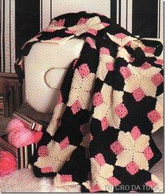 Maravilhas do Crochê: Mantas e Colchas em Crochê
