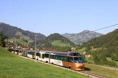 Swiss Railways, Train Station, Old Things, Mountains, Switzerland, Landscape