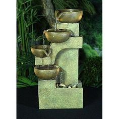 Indoor Water Fountain Kit 4-Tier Tabletop Waterfall Pump Home Office Zen Set: $56.48End Date: Jan-14 03:40Buy It Now for… #eBay #Amazon