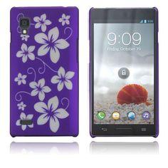 Flowers (Purple) LG Optimus L9 Case