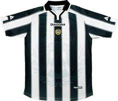 Udinese Calcio (Italy) - 2001 2002 Diadora Home Shirt Football Shirts d32c5efad