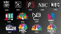 Image result for nbc logo evolution