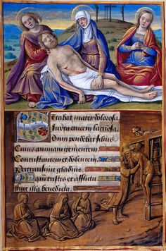 """Stabat mater"": Lamentation Border: Deposition 