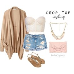Crop Top Styling
