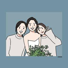 Cute Couple Drawings, Cute Couple Art, Cute Drawings, Character Art, Character Design, Dibujos Cute, Korean Art, Love Illustration, Cartoon Art Styles