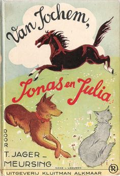 Van Jochem, Jonas en Julia, geschreven door T.Jager-Meursing. Uitgegeven door Kluitman - Alkmaar.